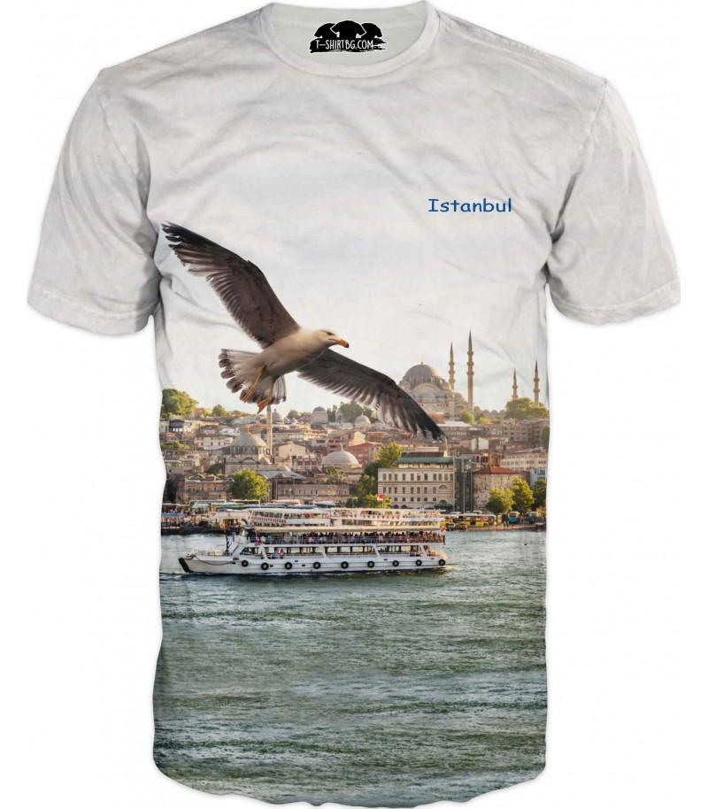 Тениска на Истанбул - чайка