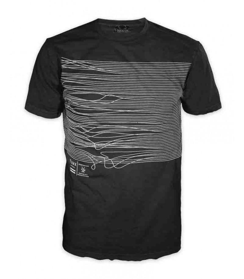 Мъжка  тениска - конци