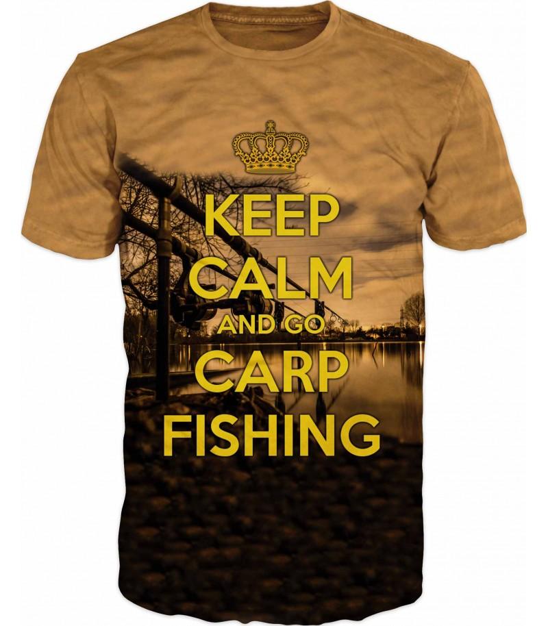 Риболовна тениска KEEP CALM