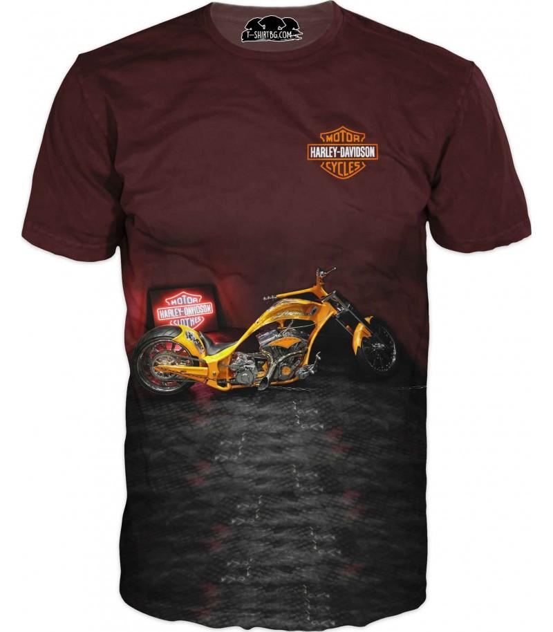Тениска на спортен мотор - Харли Дейвидсън