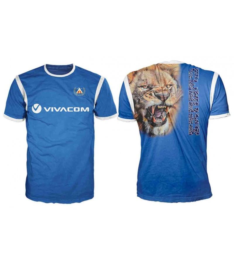 Тениска на ФК Левски