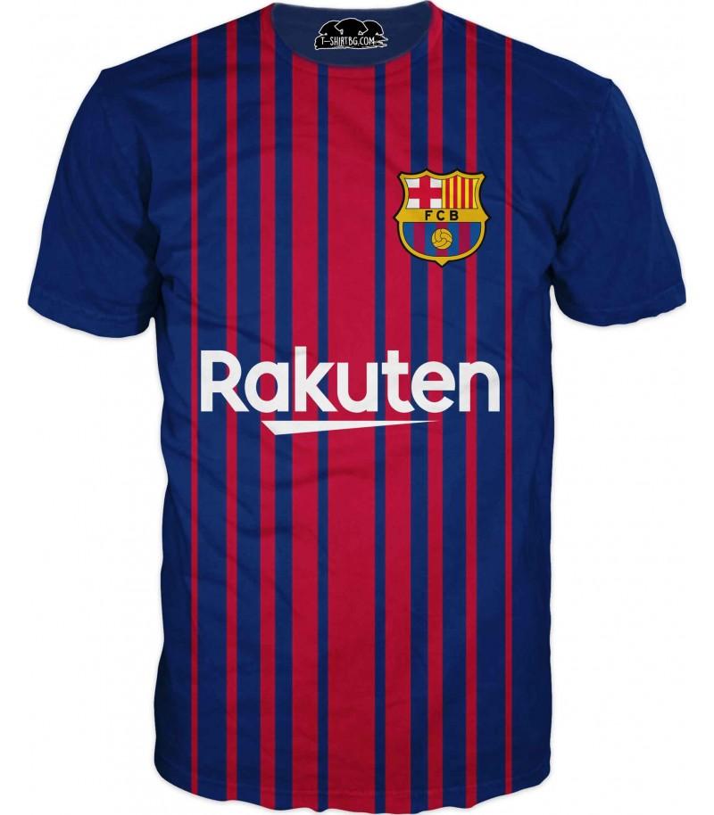 Футболна тениска - Футболен Клуб Барселона с Меси