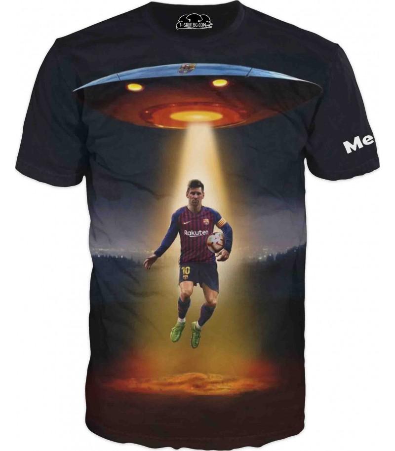 Тениска на Меси - извънземен пришълец